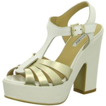Donna Piu Modische High Heels weiß