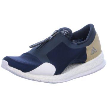 adidas Sportlicher Slipper blau