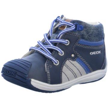 Geox Schnürschuh blau