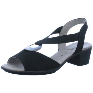 Jenny Komfort Sandale schwarz