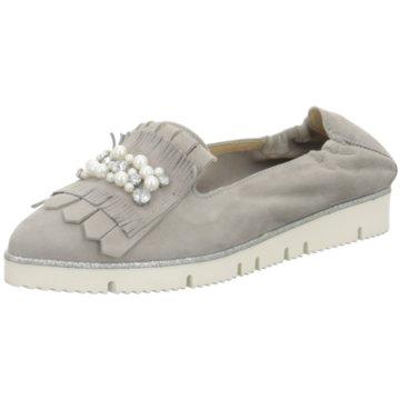 Alpe Woman Shoes Klassischer Slipper grau