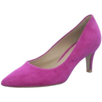Perlato Klassischer Pumps pink