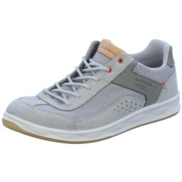 LOWA Sportlicher Schnürschuh grau