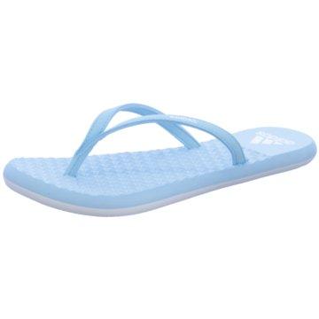 adidas Bade- Zehentrenner blau