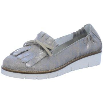 SPM Shoes & Boots Modische Slipper grau
