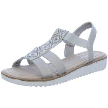 Supremo Komfort Sandale grau