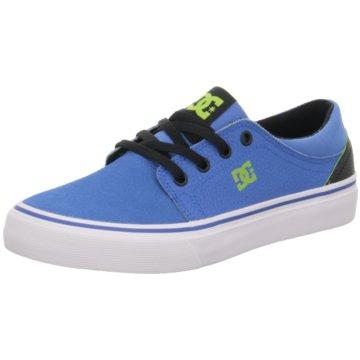 DC Shoes Sneaker Low blau