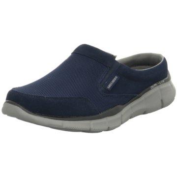 Skechers Pantolette blau