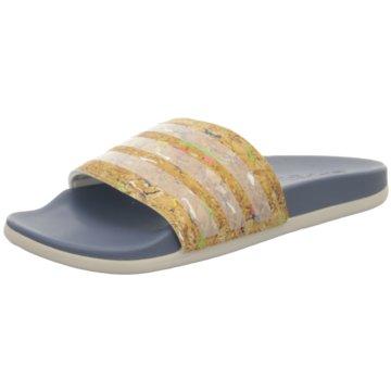 adidas Badeschuh braun