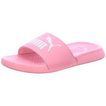 Puma Badeschuh pink