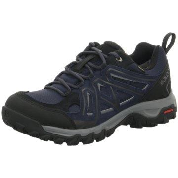 Salomon Outdoor Schuh blau