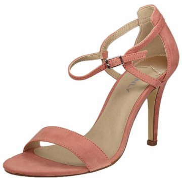Only Riemchensandalette lachs