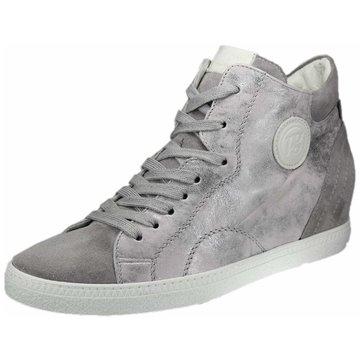 Paul Green Sneaker Wedges grau