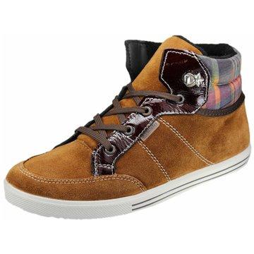 Ricosta Sneaker High braun