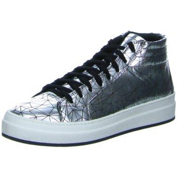 No Claim Sneaker High silber