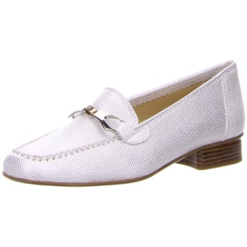 Brunate Mokassin Slipper silber