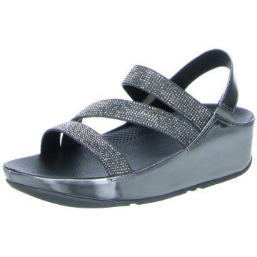 Fit Flop Komfort Sandale silber