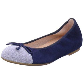 Unisa Modische Ballerinas blau