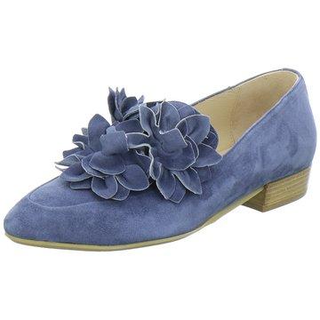 Donna Carolina Modische Slipper blau