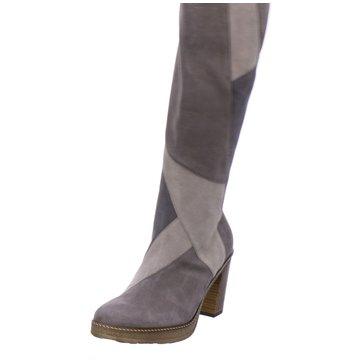 Gabor Plateau Stiefel grau