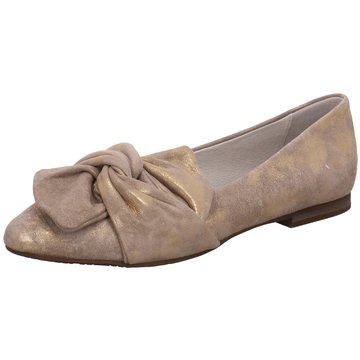 Regarde le ciel Klassischer Slipper gold