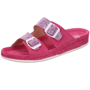 Dr. Feet Komfort Pantolette pink