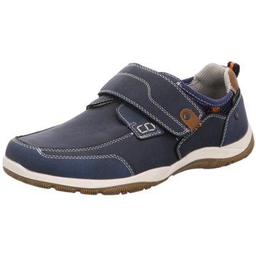 BM Footwear Komfort Slipper blau