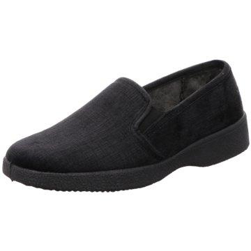 Neles Komfort Slipper schwarz
