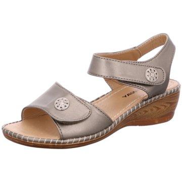 Topway Komfort Sandale silber
