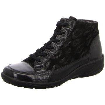 Semler Sneaker High schwarz