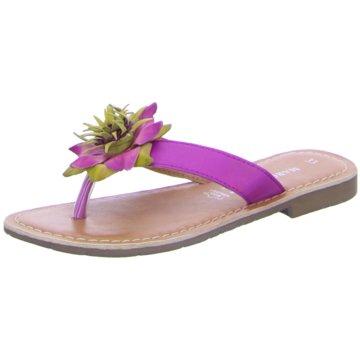 Marco Tozzi Offene Schuhe lila