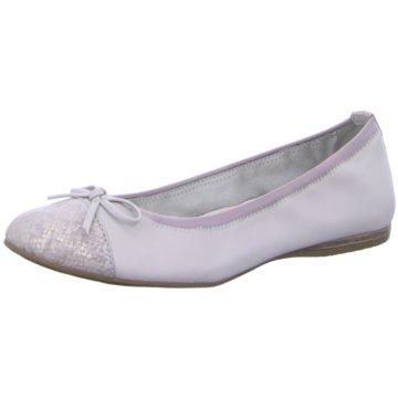 Tamaris Eleganter Ballerina grau