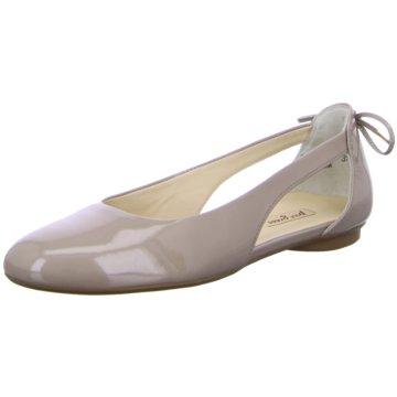 Paul Green Riemchen Ballerina grau