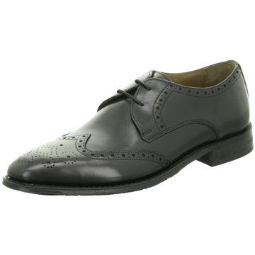Gordon & Bros Business Schnürschuh schwarz