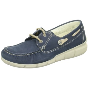 Wolky Bootsschuh blau