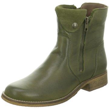 Online Shoes Klassische Stiefelette grün