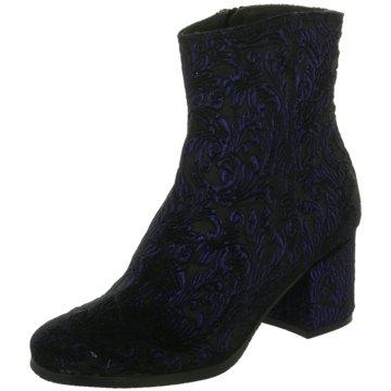 Donna Carolina Modische Stiefeletten schwarz