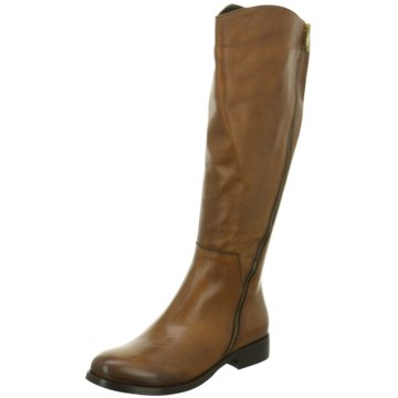 Ladyshoes Klassischer Stiefel braun