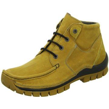 Wolky Komfort Stiefelette gelb