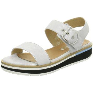 Carmens Sandale weiß