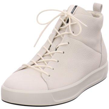 Ecco Sneaker High weiß