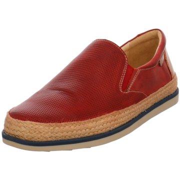 Pikolinos Klassischer Slipper rot