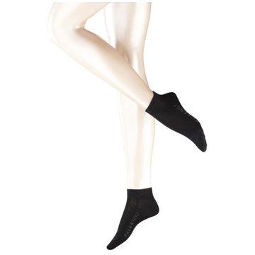 Falke Socken / Strümpfe schwarz