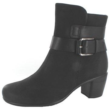 Ecco Klassische Stiefelette schwarz