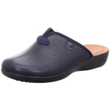 Fly Flot Komfort Pantolette blau