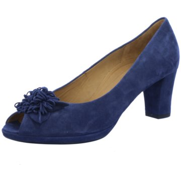 Gabor comfort Peeptoe blau