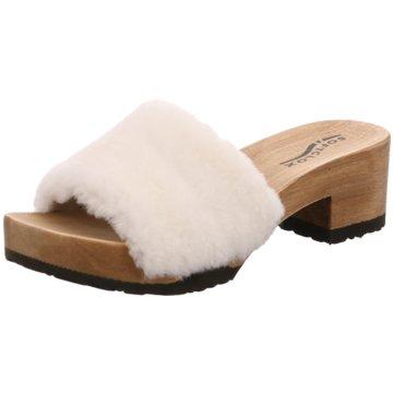 Softclox Klassische Pantolette weiß