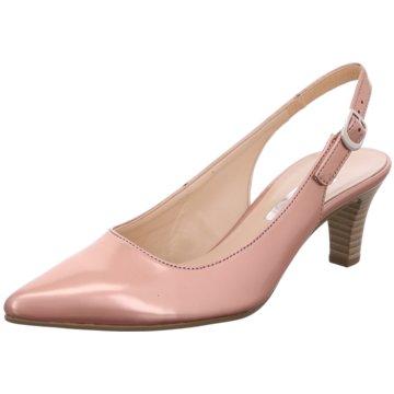 Gabor Slingpumps rosa
