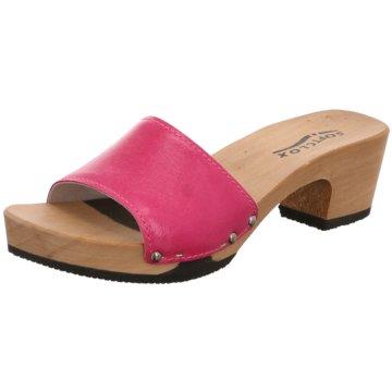 Softclox Plateau Pantolette pink