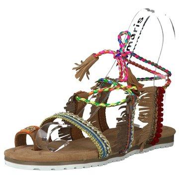 Alma en Pena Modische Sandaletten bunt
